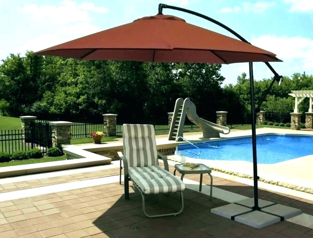 Gribble Cantilever Umbrellas Regarding Most Recently Released Proshade Cantilever Umbrella – Hobbingen (View 9 of 25)