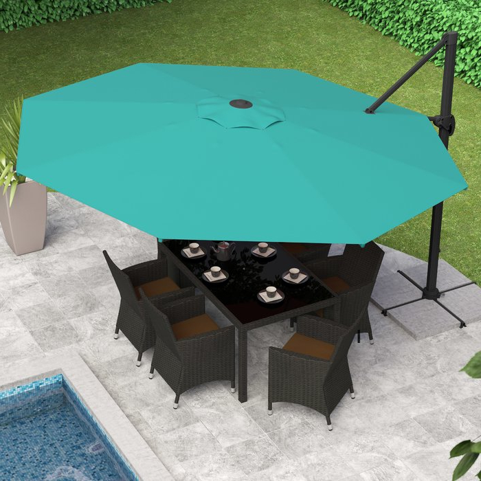 Featured Photo of Gribble Cantilever Umbrellas