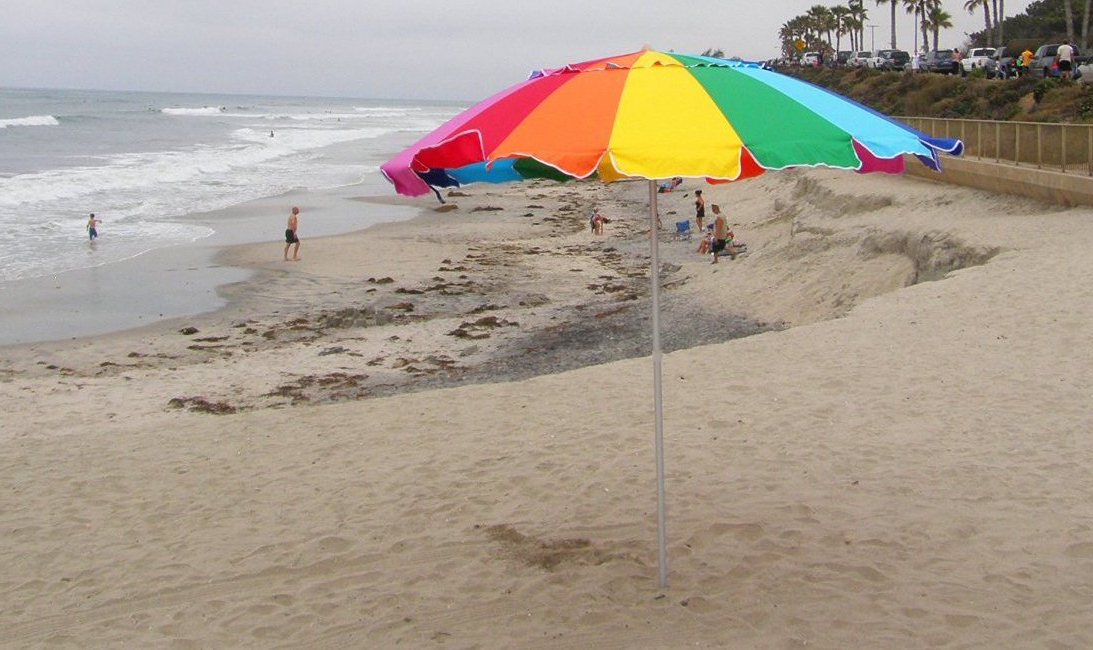 Guide Throughout Most Up To Date Leasure Fiberglass Portable Beach Umbrellas (View 25 of 25)