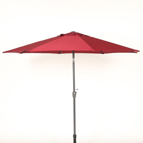 Hatten 10' Market Umbrella For Current Hatten Market Umbrellas (View 2 of 25)
