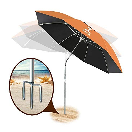 Hatten Market Umbrellas Pertaining To Current Aoske Portable Sun Shade Umbrella, Inclined, Heat Insulation (Gallery 15 of 25)