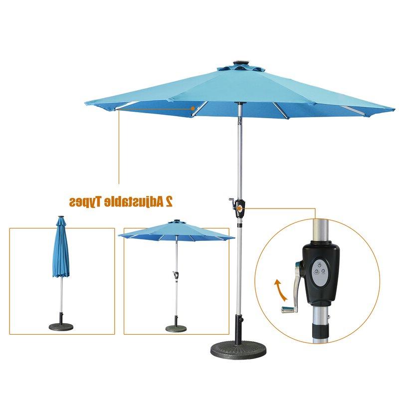 Hawkinge Market Umbrellas Regarding Latest Hawkinge 9' Market Umbrella (Gallery 5 of 25)