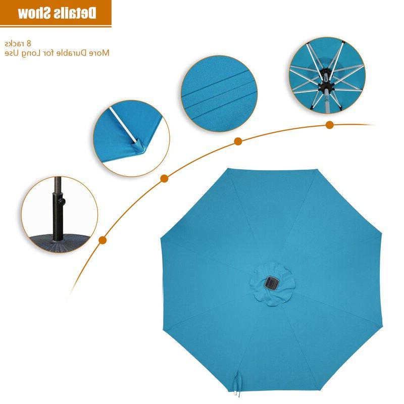 Hawkinge Market Umbrellas With Newest Hawkinge 9' Market Umbrella (Gallery 7 of 25)