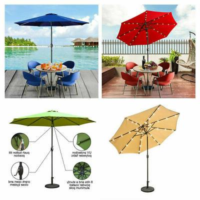 Henna 9' Lanai Octagon Auto Tilt Market Umbrella Beach Garden Pool regarding Most Recent Lanai Market Umbrellas