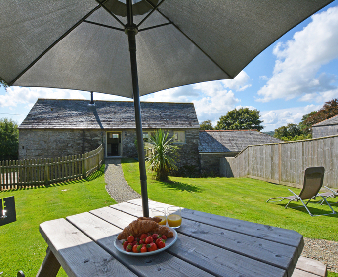 Hettie Solar Lighted Market Umbrellas For Well Liked Hetty's, Hetty's, St Breward / St Tudy, Cornwall – Last Minute Cottages (View 14 of 25)