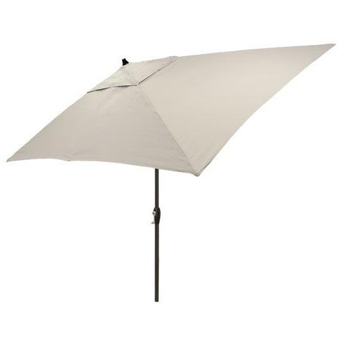 Highland Dunes Hulme Solid 6.5' X 10' Rectangular Market Umbrella Pertaining To Best And Newest Jerrell Rectangular Market Umbrellas (Gallery 13 of 25)