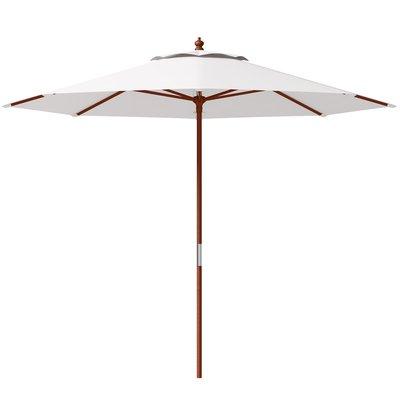 "Highland Dunes Julian Beach Umbrella Size: 33.6"" H X 120"" W In 2019 In Well Known Julian Beach Umbrellas (Gallery 3 of 25)"