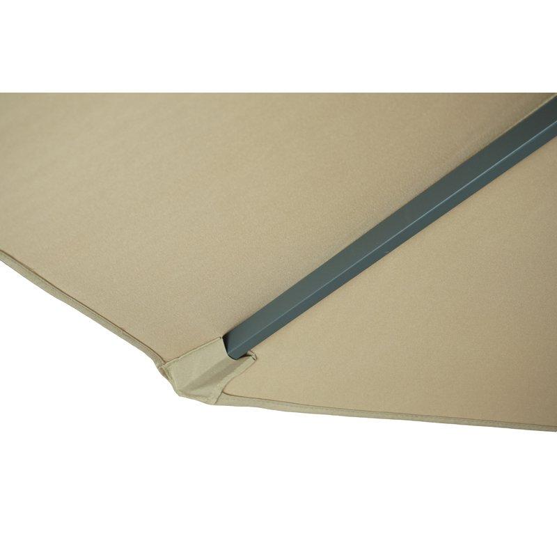 Hilma Solar 10' Cantilever Umbrella With Most Popular Hilma Solar Cantilever Umbrellas (Gallery 7 of 25)