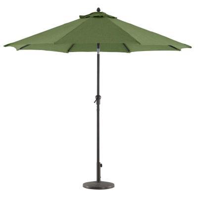 Hurt Market Umbrellas with Preferred Hampton Bay 9 Ft. Steel Tilt Patio Umbrella In Denim-Yjauc-171-Dm