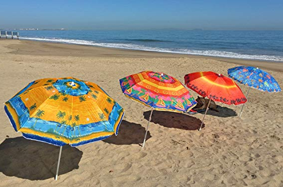 Hyperion Beach Umbrellas In Most Current Beach Umbrellas – Sol Summer Shade (View 16 of 25)