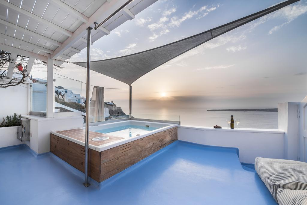 Hyperion Oia Suites, Oia – Updated 2019 Prices intended for Popular Hyperion Beach Umbrellas