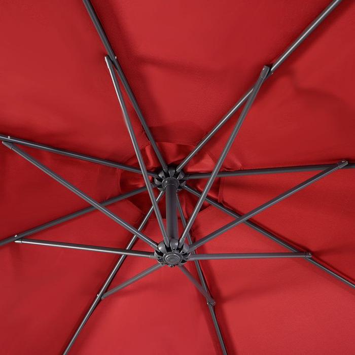 Imogen Hanging Offset 10' Cantilever Umbrella intended for Latest Imogen Hanging Offset Cantilever Umbrellas