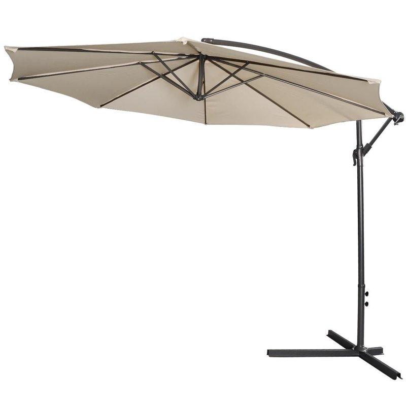 Imogen Hanging Offset Cantilever Umbrellas Within Most Up To Date Imogen Hanging Offset 10' Cantilever Umbrella (Gallery 3 of 25)
