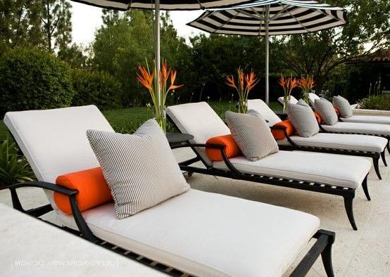 Interior Design With Regard To 2018 Madalyn Rectangular Market Sunbrella Umbrellas (Gallery 17 of 25)
