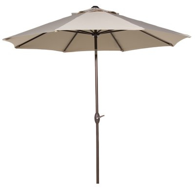 Irven Cantilever Umbrellas Regarding 2017 Freeport Park Isom 11' Market Umbrella Fabric Color: Beige In (View 8 of 25)