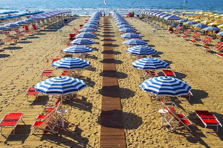 Italian Beach Umbrellas For Well Known 13 Top Rated Beach Destinations In Italy,  (View 6 of 25)