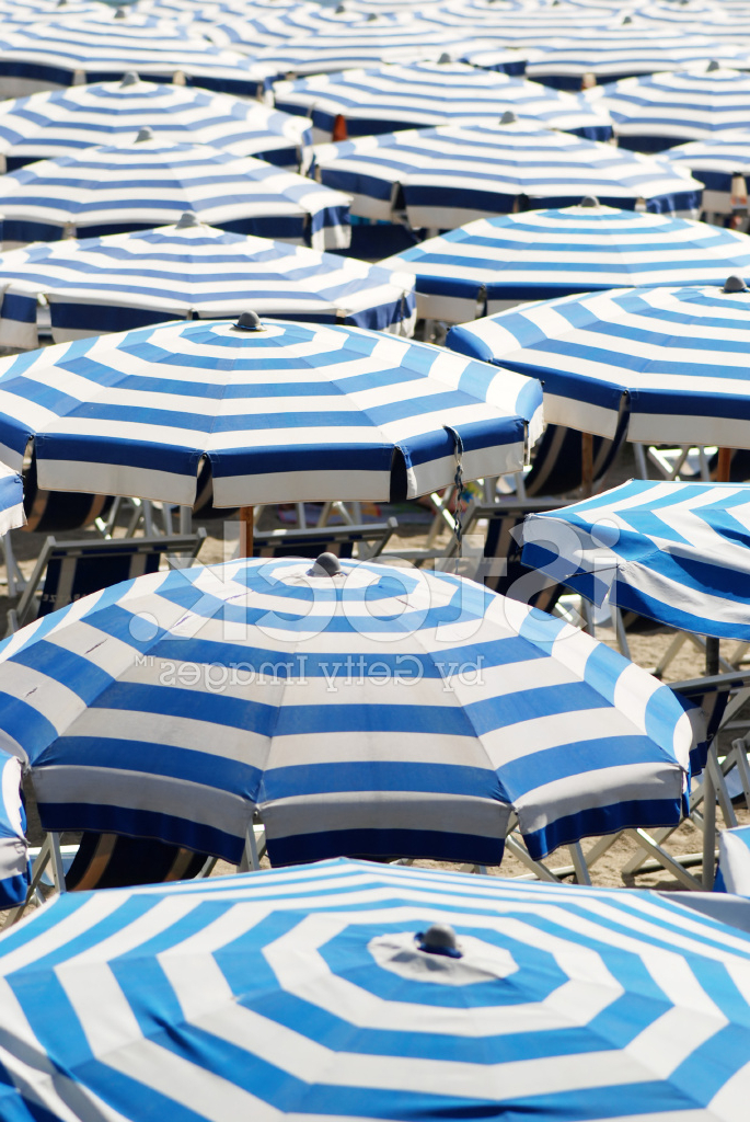 Italian Beach Umbrellas Stock Photos – Freeimages For Fashionable Italian Beach Umbrellas (View 3 of 25)