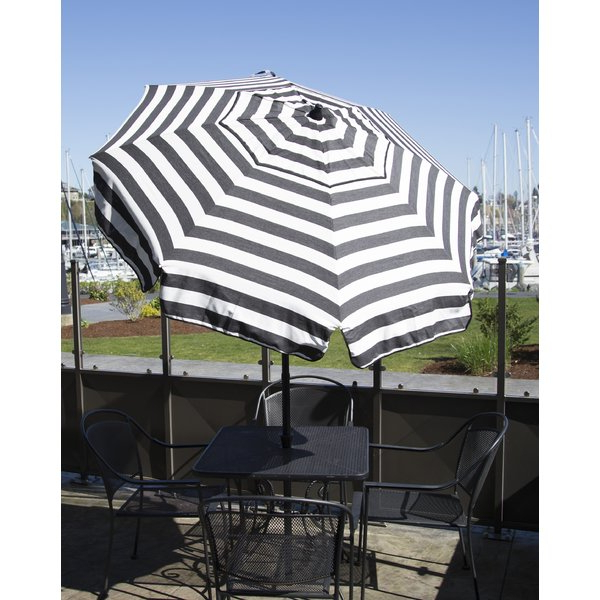 Italian Drape Umbrellas in Trendy Italian 6' Market Umbrella