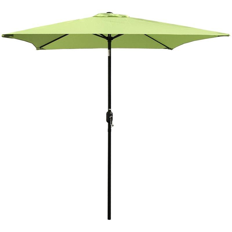 Iyanna Cantilever Umbrellas in Most Recent Bradford Patio 6.5' Square Market Umbrella