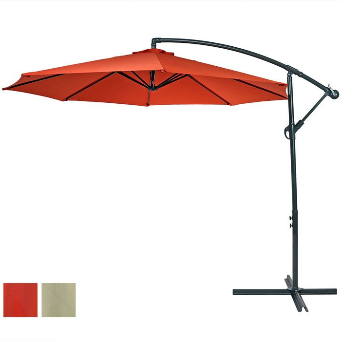 Iyanna Cantilever Umbrellas With Favorite Raymundo  (View 14 of 25)