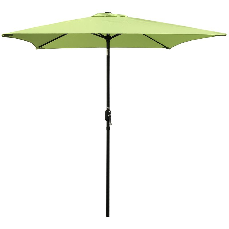 Iyanna Cantilever Umbrellas Within Favorite Bradford Patio 6.5' Square Market Umbrella (Gallery 13 of 25)
