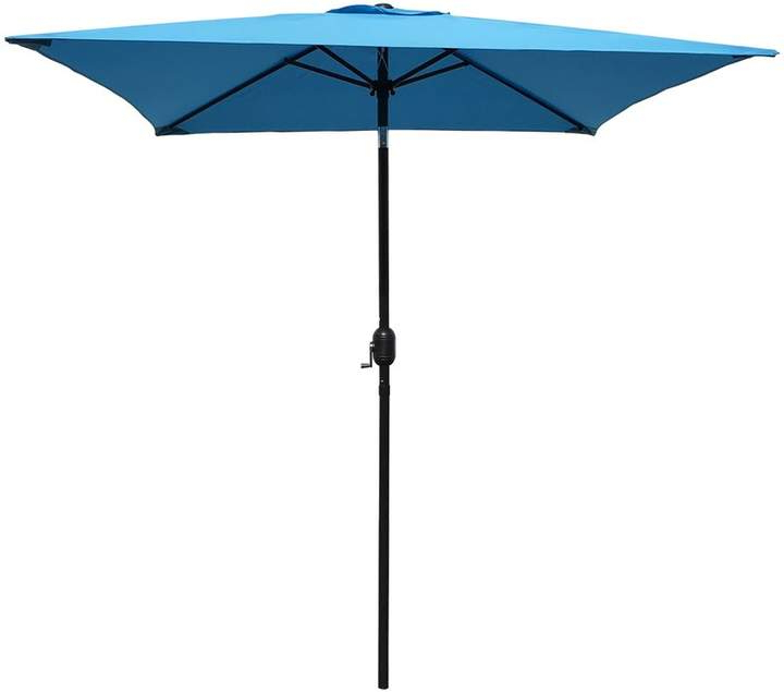 Iyanna Market Umbrellas within Famous Turn On The Brights Bradford Patio 6.5' Square Market Umbrella In