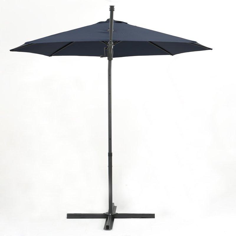 Jaelynn 9.5' Cantilever Umbrella In Current Jaelynn Cantilever Umbrellas (Gallery 5 of 25)
