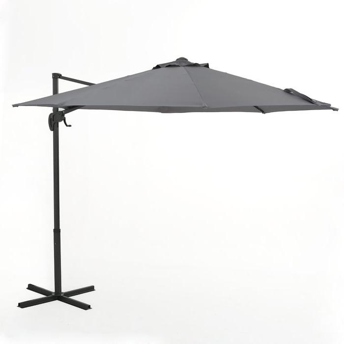 Jaelynn Cantilever Umbrellas In Famous Jaelynn 9.5' Cantilever Umbrella (Gallery 20 of 25)