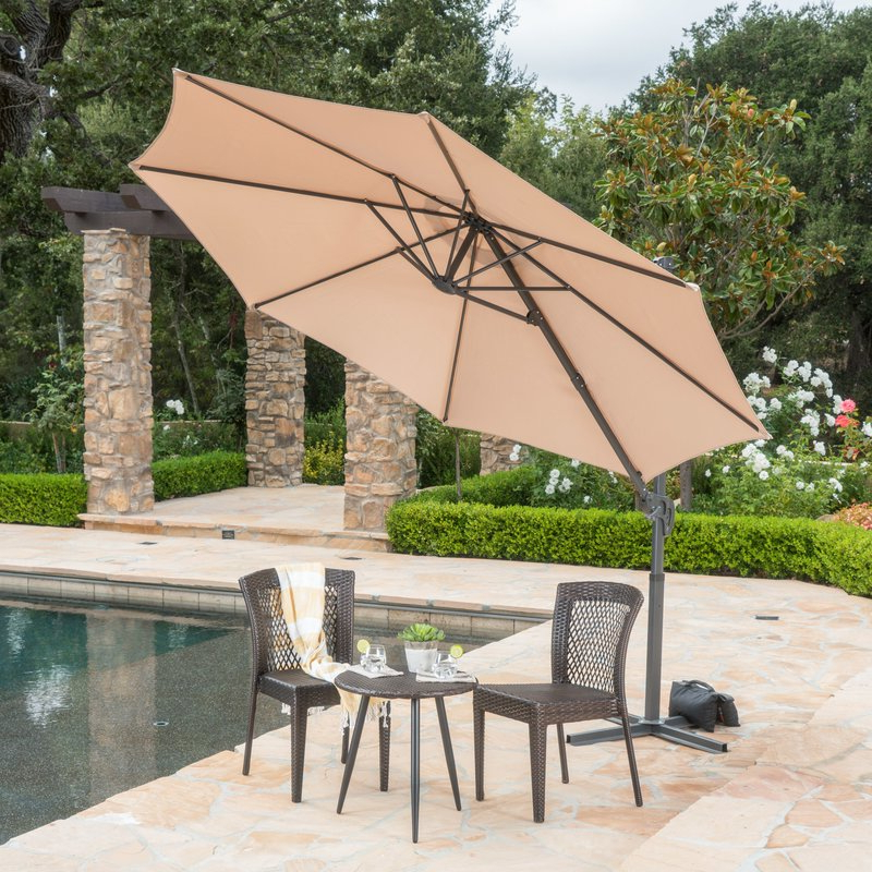Jaelynn Cantilever Umbrellas With Popular Jaelynn  (View 4 of 25)