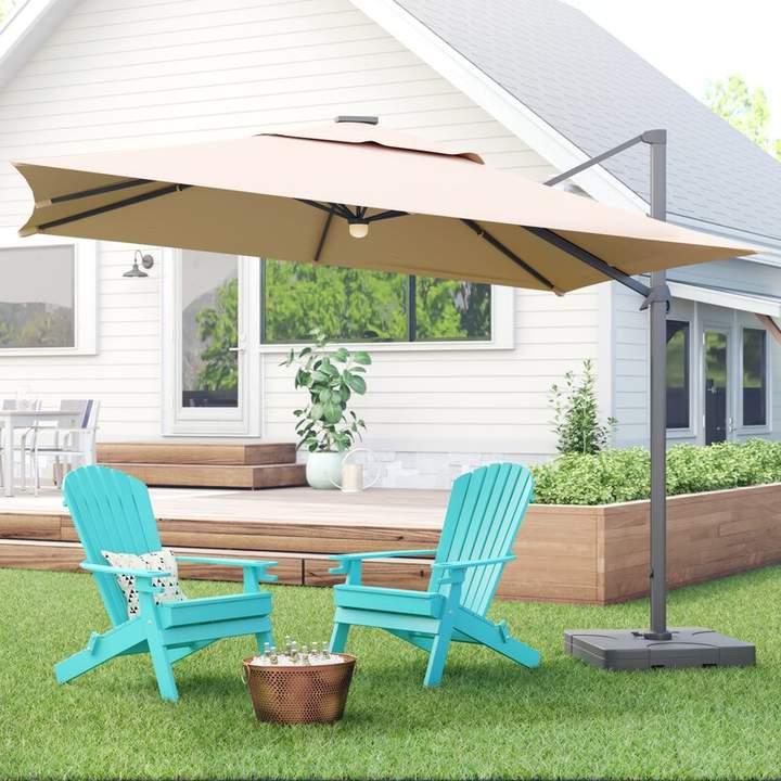 Jendayi Square Cantilever Umbrella In 2019