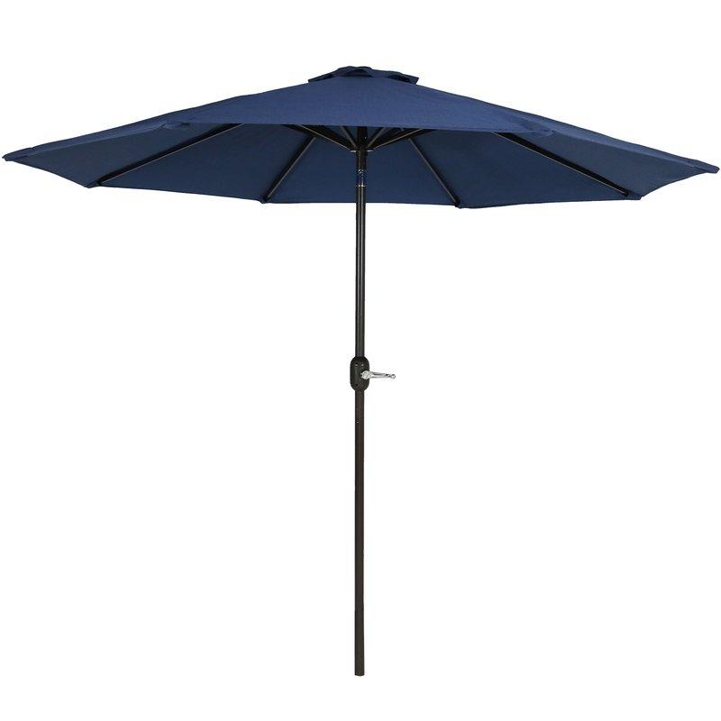 Julian 8.5' Market Umbrella with regard to 2018 Julian Market Sunbrella Umbrellas