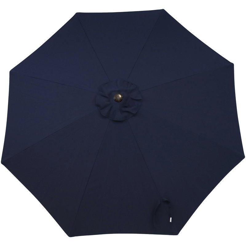 Julian Market Sunbrella Umbrellas Throughout Fashionable Julian 9' Market Sunbrella Umbrella (View 4 of 25)