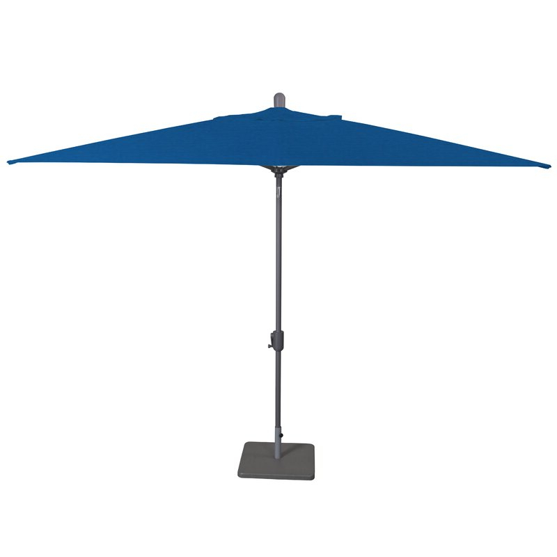 Julian Market Sunbrella Umbrellas With Regard To Famous Wieczorek Auto Tilt 10' X 6.5' Rectangular Market Sunbrella Umbrella (Gallery 13 of 25)