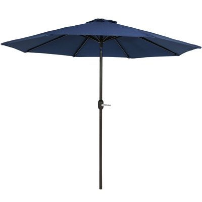 Julian Market Umbrellas pertaining to Well-known Breakwater Bay Julian 8.5' Market Umbrella & Reviews