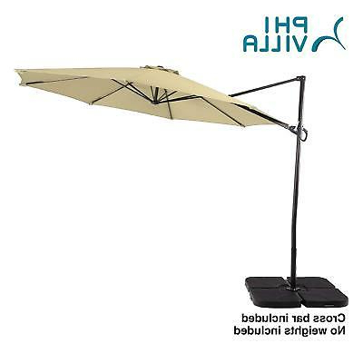 Justis Cantilever Umbrellas Pertaining To Famous Urbanmod 8' Cantilever Umbrella – $429.99 (Gallery 6 of 25)