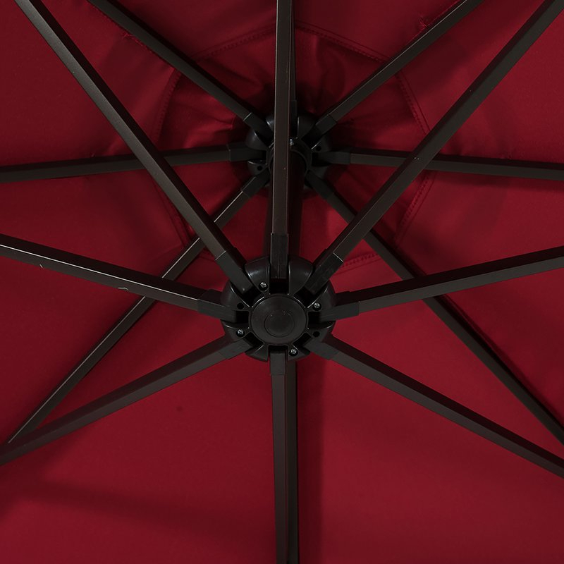 Karr 10' Cantilever Umbrella Throughout Well Known Karr Cantilever Umbrellas (View 15 of 25)
