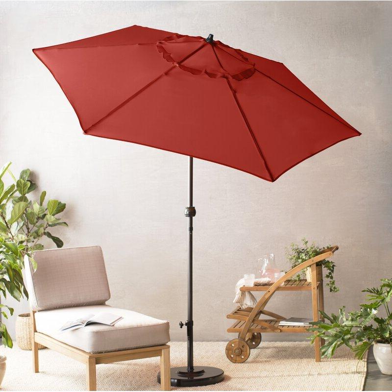 Kearney 9' Market Umbrella For Well Liked Kearney Market Umbrellas (View 5 of 25)
