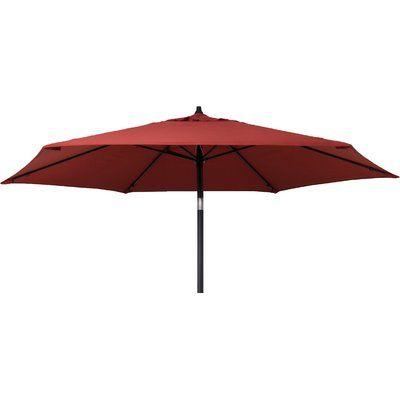 Kearney Market Umbrellas intended for Most Current Beachcrest Home Kearney 9' Market Umbrella Fabric Color: Brick