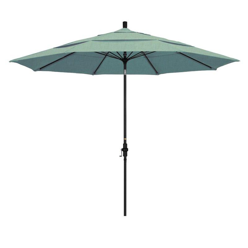 Keegan 11' Market Umbrella Intended For Best And Newest Launceston Rectangular Market Umbrellas (View 12 of 25)