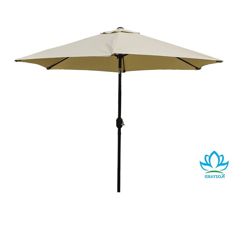 Keltner Patio Outdoor Market Umbrellas Pertaining To Most Current Keltner Patio Outdoor 9' Market Umbrella (Gallery 1 of 25)
