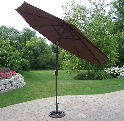 Keltner Patio Outdoor Market Umbrellas Pertaining To Widely Used Charlton Home Hollinger 9' Market Umbrella – $63.99 (Gallery 12 of 25)