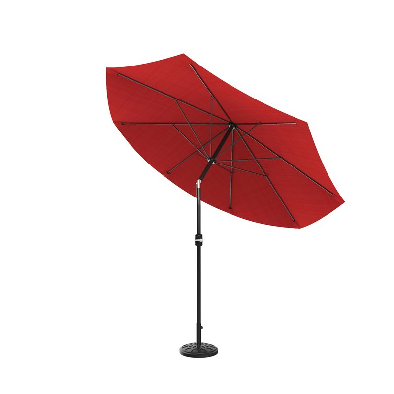 Kelton 10' Market Umbrella Pertaining To Well Liked Kelton Market Umbrellas (View 14 of 25)