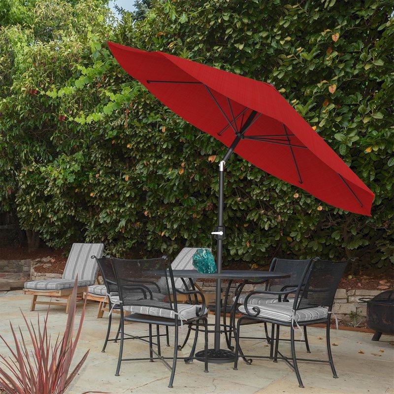 Kelton 10' Market Umbrella regarding Popular Cardine Market Umbrellas