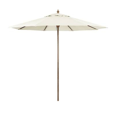 Kelton Market Umbrellas Pertaining To 2017 Kelton 10' Market Umbrella & Reviews (View 20 of 25)
