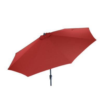Kelton Market Umbrellas pertaining to Most Recently Released Pure Garden 10 Ft. Aluminum Patio Umbrella With Auto Tilt In Tan