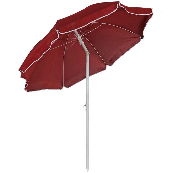 Kerner Steel 5.5' Beach Umbrella regarding Most Up-to-Date Kerner Steel Beach Umbrellas