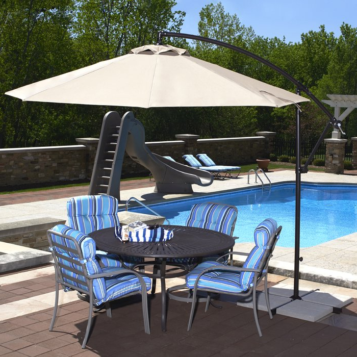 Ketcham 10' Cantilever Umbrella For Most Up To Date Ketcham Cantilever Umbrellas (Gallery 2 of 25)