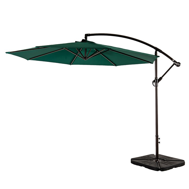 Ketcham Cantilever Umbrellas For Most Recent Karr 10' Cantilever Umbrella (View 7 of 25)