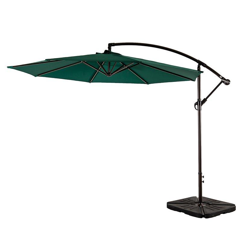 Ketcham Cantilever Umbrellas For Most Recent Karr 10' Cantilever Umbrella (View 9 of 25)