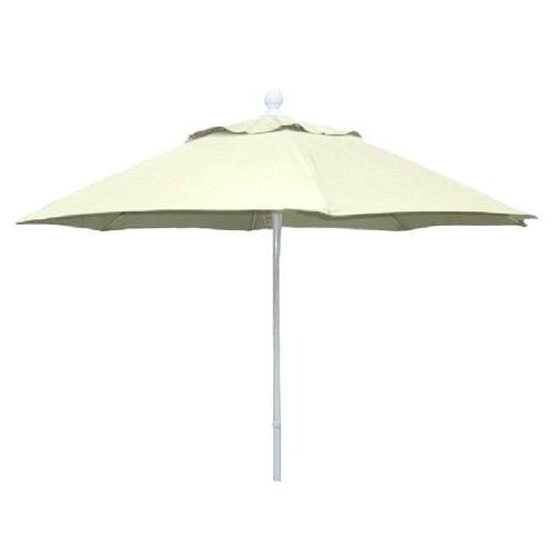 Lanai Umbrella Pro Ft Wide Auto Tilt With Starlight Fabric Sunbrella For Most Recently Released Lanai Market Umbrellas (View 19 of 25)